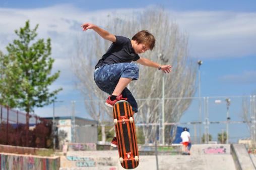 Construire un skatepark, ce qu'il faut savoir. / Source  image : Gettyimages