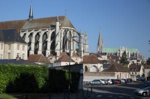 Le centre-ville de Chartres. Source : chartres.fr
