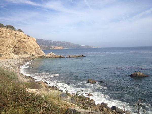 falaises bord de mer